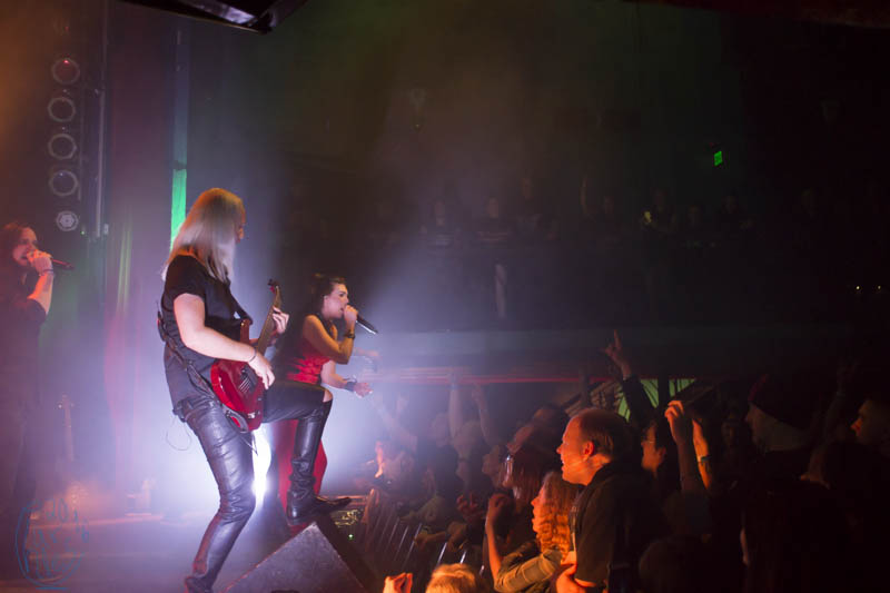 Amaranthe at the Gothic Theater