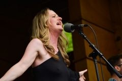 Bonnie and Taylor Sims perform Folks Fest 2021 at Planet Bluegrass