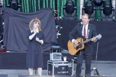 Exene Crevenka and John Doe
