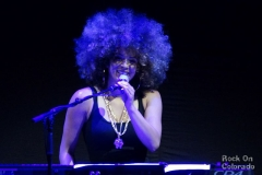 Kandace Springs at Pepsi Center