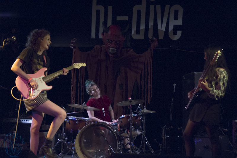 The Corner Girls Opening for Death Valley Girls at Hi-Dive