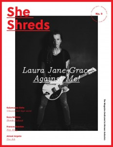 she shreds magazine
