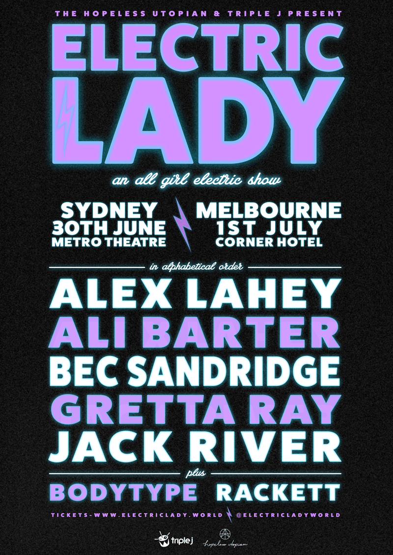 Electric Lady: An All Girl Electric Show