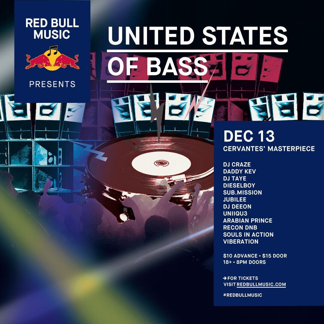 Red Bull Music Presents United States of Bass