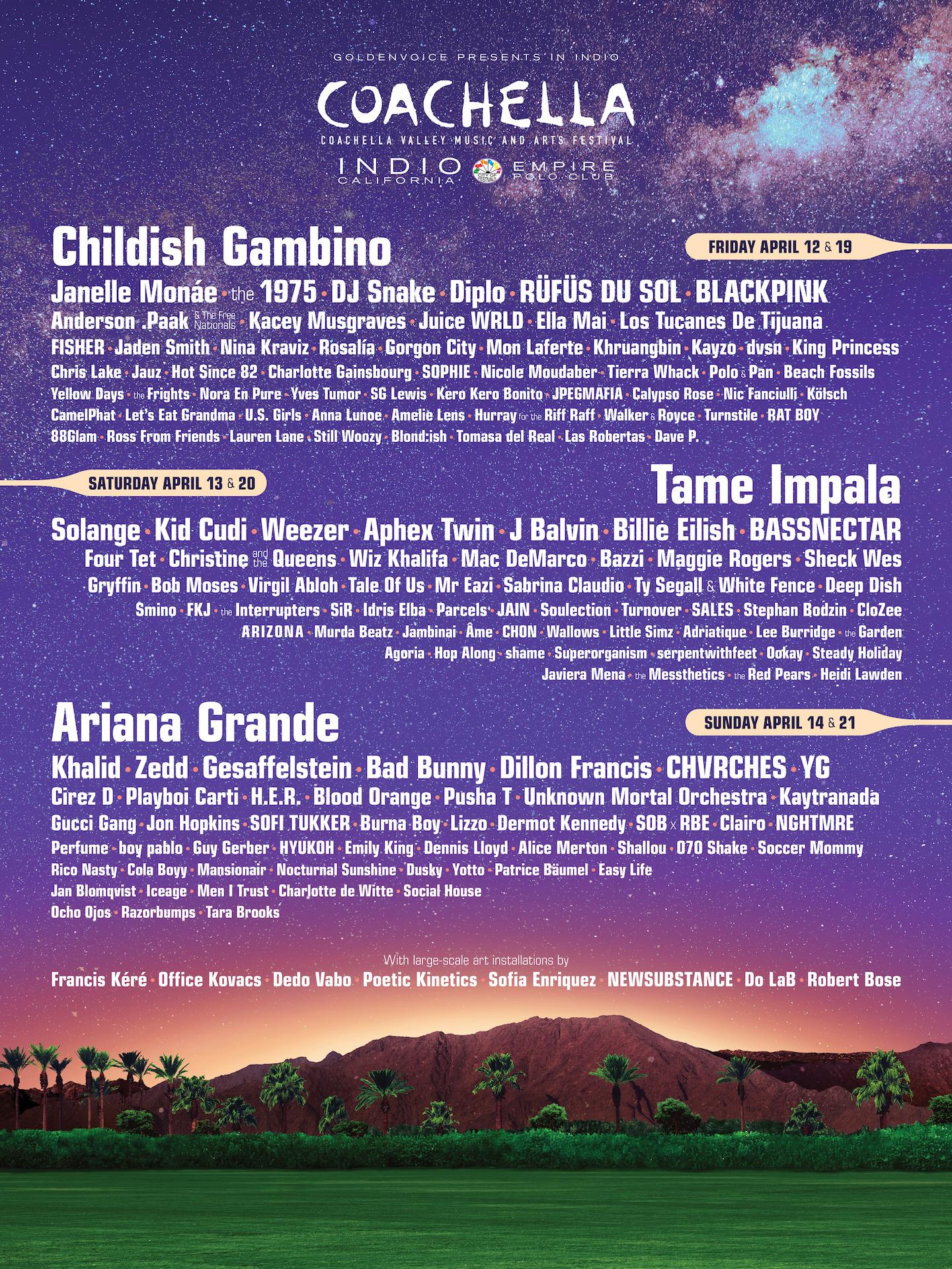 Coachella Music Festival 2019