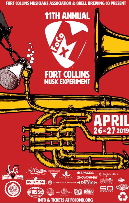FoCoMX 11 poster
