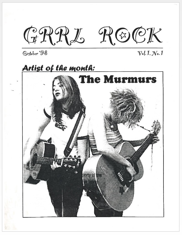 grrl rock cover Oct-98
