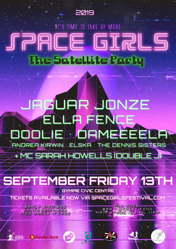 Space Girls Promo Poster