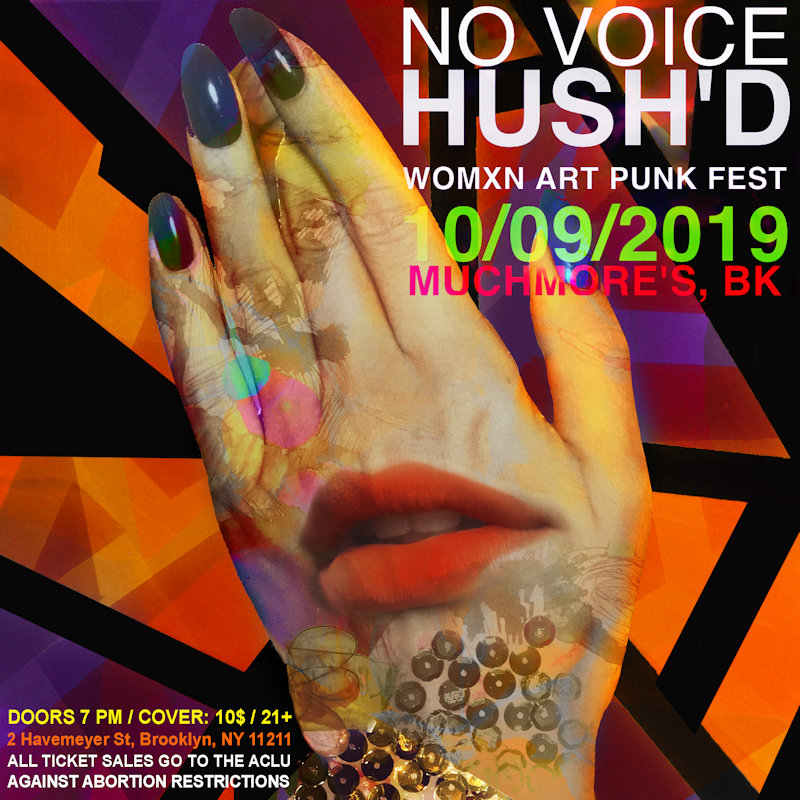 No voice hushd-flyer