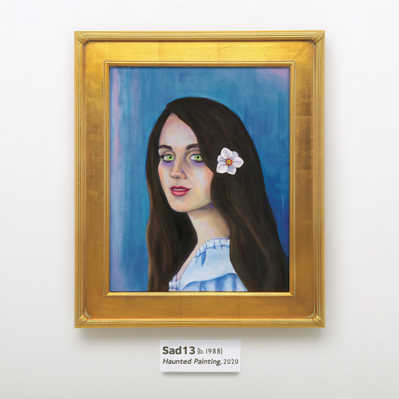 Sad13 - Haunted Painting - Album Art